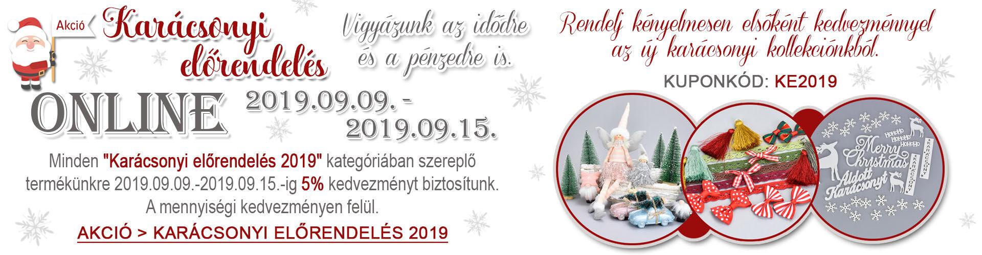 2019 karácsonyi elővásárlas