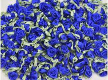 Szatén rózsafejek s.kék 950db/cs - OKOS ÁR!