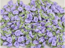 Szatén rózsafejek v.lila 950db/cs - OKOS ÁR!