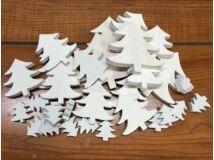 Fehér fa fenyőfák vegyes 30db/csomag