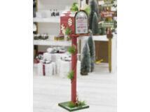 Karácsonyi portál dekoráció - postaláda