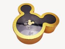 Mickey papírdoboz arany
