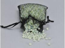 Gyöngyház gyöngy zöld 6mm 85gramm