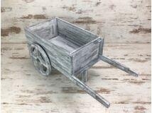 Western kocsi szürke
