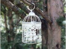 Kalitka 2 madaras antikolt fehér kicsi