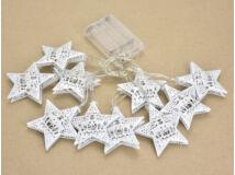 Világító girland dekoráció - csillag 100/#
