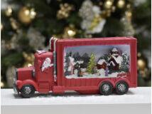 Karácsonyi kamion világítós 6#