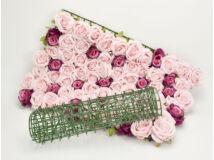 Műanyag háló virágfalhoz