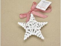 Fonott csillag fehér 90/#