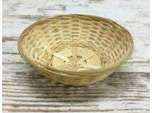 Kerek bambusz tál 17cm 450/#