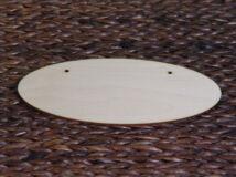 Natúr fa - Ovál tábla 24cm