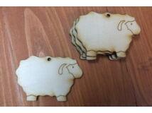 Natúr fa - Bárány 6cm 5db/csomag