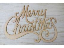 """Natúr fa - """"Merry Christmas"""" felirat óriás"""