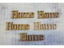 "Natúr fa - ""Home"" felirat 5db/csomag"