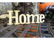"Natúr fa - ""Home"" felirat 15cm 2db/csomag"