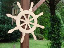 Natúr fa - Óriás hajókormány 70cm