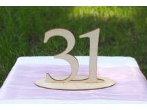 Natúr fa Asztalszám 31-es