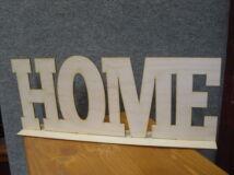 "Natúr fa - ""HOME"" felirat talppal 50cm"
