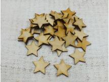 Natúr fa - Csillag 3cm 30db/csomag