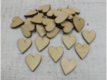 Natur szív 30db/csomag