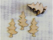 Natúr fa - Spicces fenyő 5cm 10db/csomag