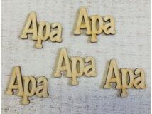Fa Apa felirat  5db/csomag