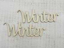 """""""Winter"""" felirat 2db/csomag"""