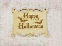 Natúr fa - Halloween tábla 8x10cm
