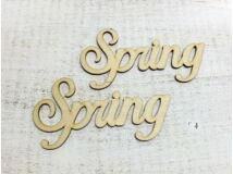 Fa Spring felirat 2db/csomag