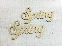 """Natúr fa - """"Spring"""" felirat 2db/csomag"""