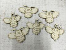 Méhecskék 4cm 6db/csomag