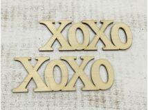 Xoxo felirat 15cm 2db/csomag