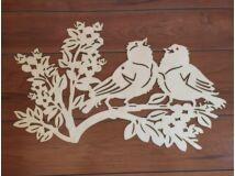 Natúr fa énekes madarak 74cm