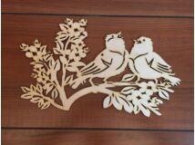 Natúr fa énekes madarak 32cm