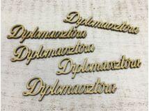 Diplomaosztóra felirat 9,5cm 5db/csomag