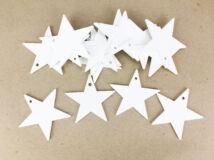 Fehér csillag 6cm 15db/csomag