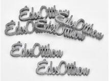 """Fa """"Édes Otthon"""" felirat szürke 10cm 6db/csomag"""