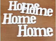 Home felirat fehér 15cm 4db/csomag