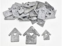 Fa házikó vegyes szürke 30db/csomag