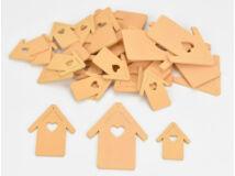 Fa házikó vegyes barack 30db/csomag