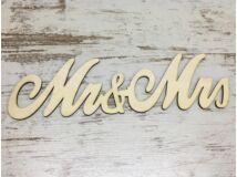 Mrs & Mrs írott 30cm