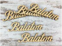 Natúr fa - Balaton felirat 9,5cm 5db/csomag