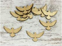 Natúr fa - Repülő galamb kicsi 10db/csomag