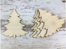 Natúr fa - Fenyő 10cm 5db/csomag