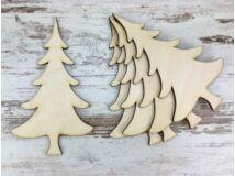 Natúr fa - Fenyő 15cm 5db/csomag
