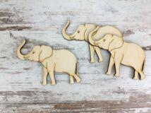 Natúr fa - Elefánt 8cm 3db/csomag