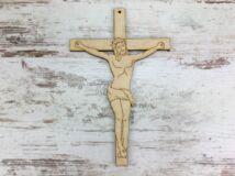 Natúr fa - Jézus a kereszten 15cm