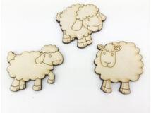 Natúr fa - Legelő bárányok 3db/csomag