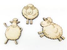 Natúr fa - Táncoló bárányok 3db/csomag