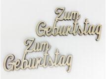 """Natúr fa - """"Zum Geburtstag"""" felirat 2db/csomag"""